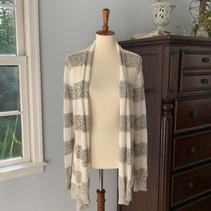 EUC BB Dakota Open-Front Knit Cardigan